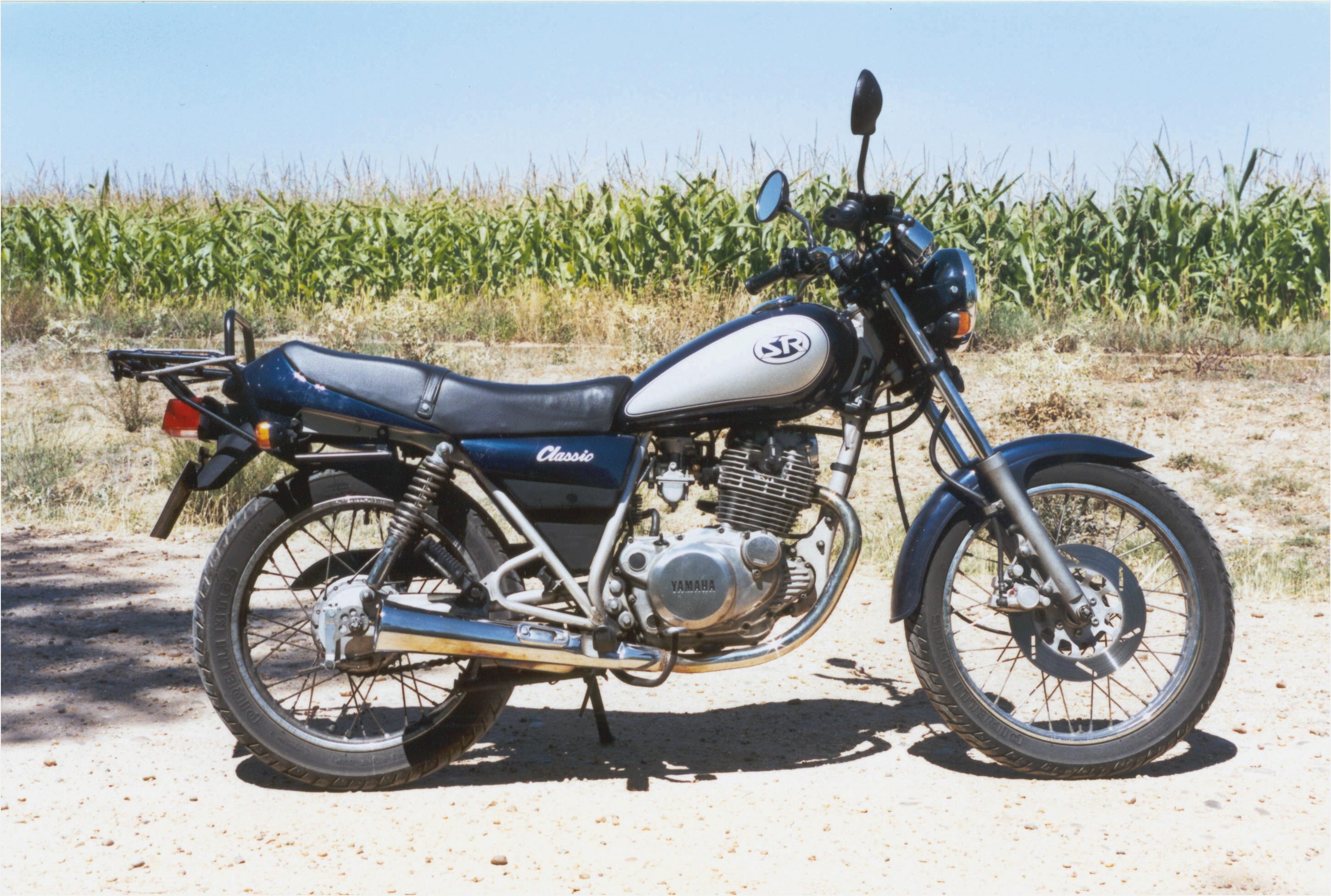 1987 yamaha sr 125 pics specs and information. Black Bedroom Furniture Sets. Home Design Ideas