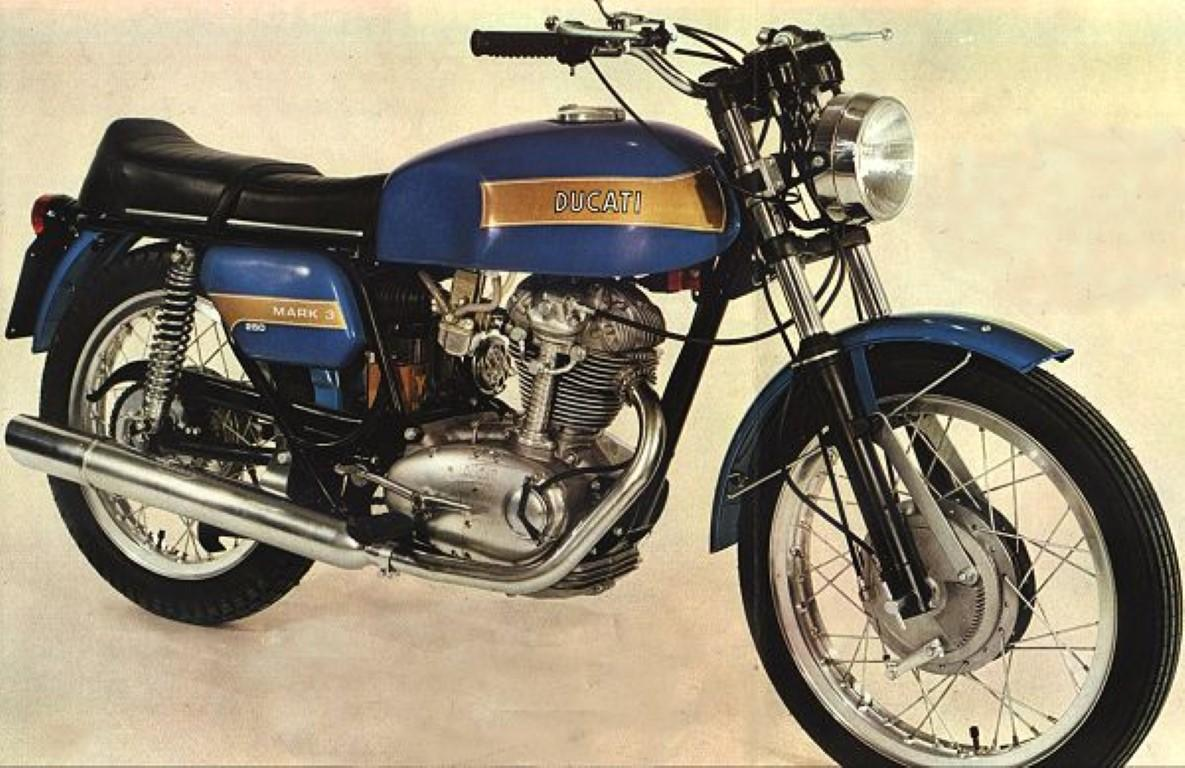 Ducati 250 Mark 3 D images #10202