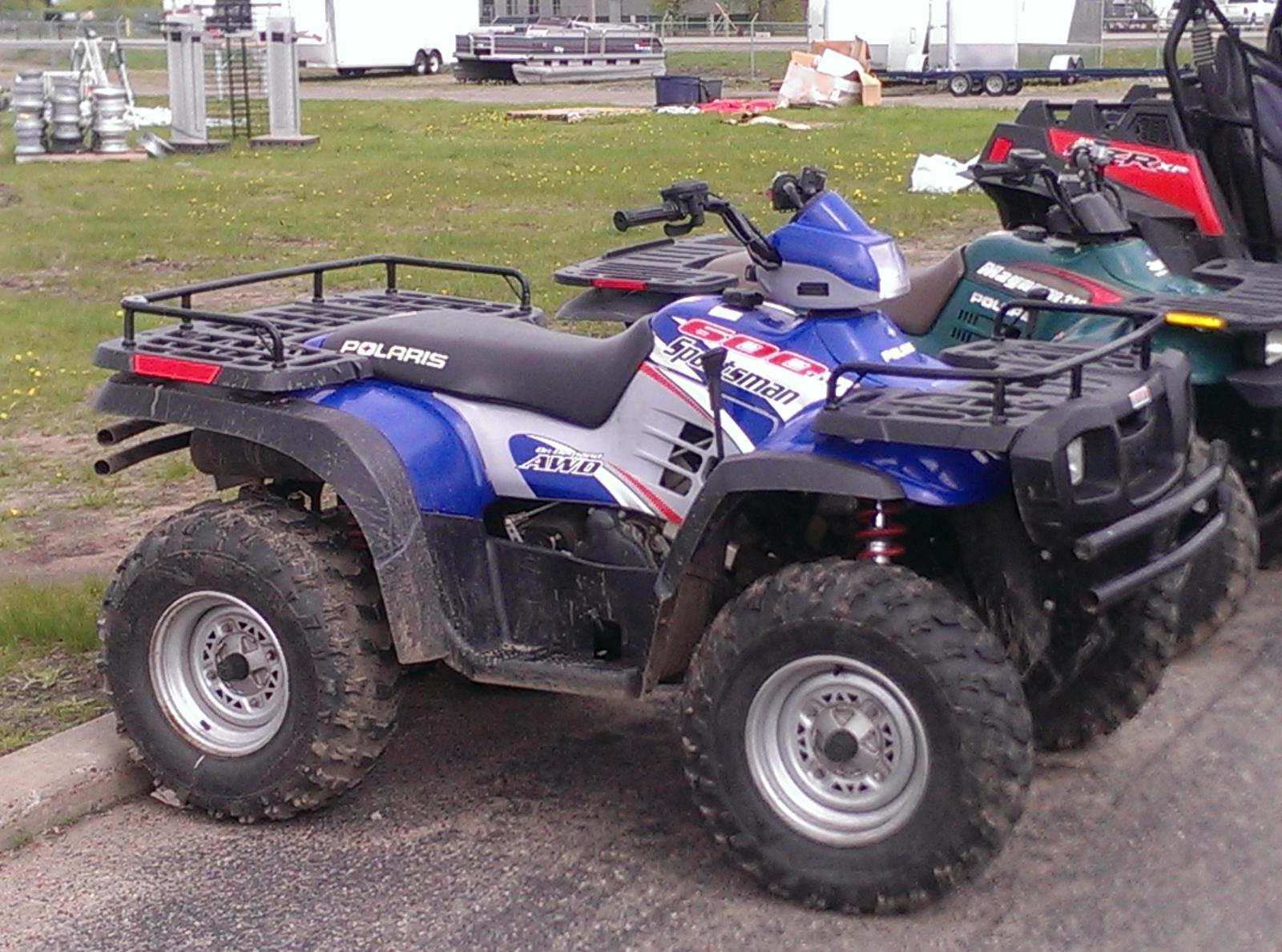2004 polaris sportsman 600 review