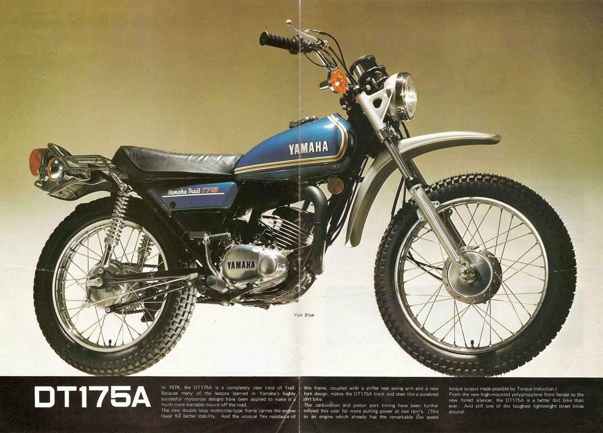 Yamaha Dt 175 Pics Specs And List Of Seriess By Year Wiring Diagram Images 90023