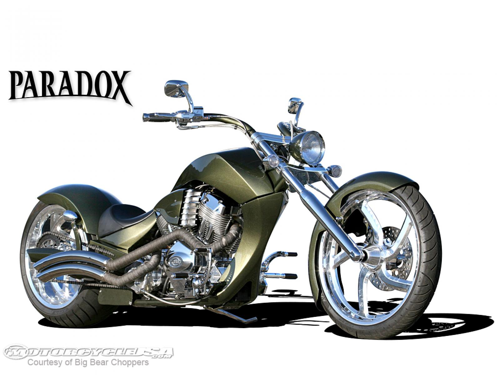 Big Bear Choppers Paradox 114 EFI X-Wedge 2009 images #63461