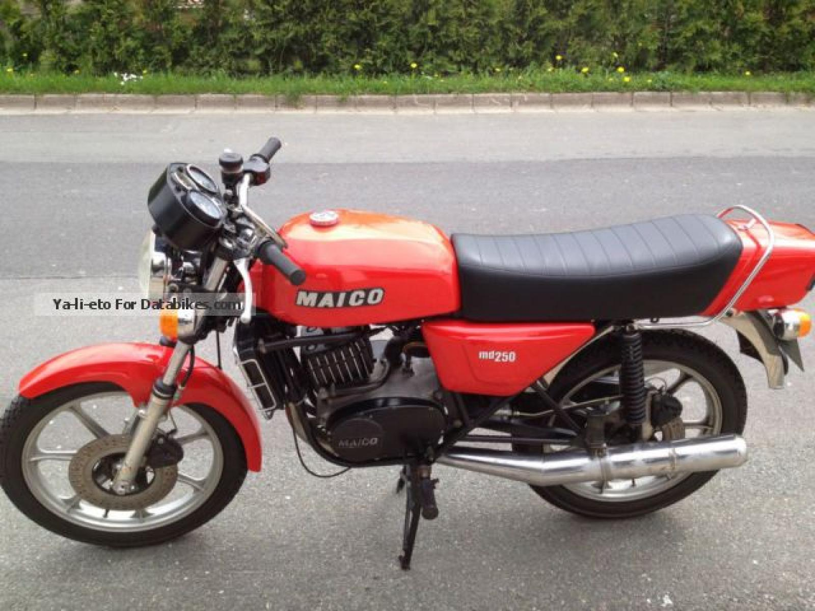 Maico MD 250 WK 1981 images #103500