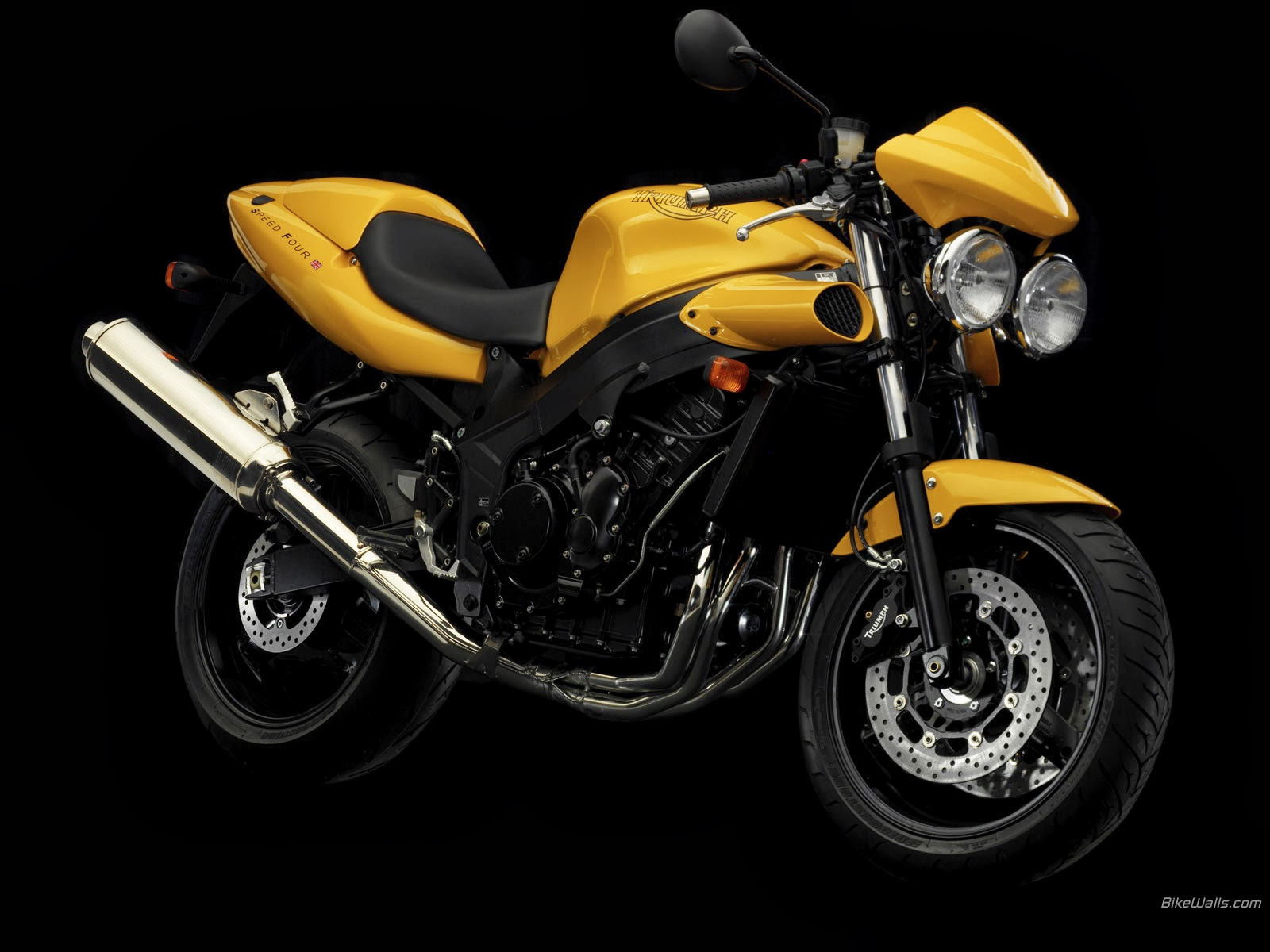 Triumph Speed Four wallpapers #159881