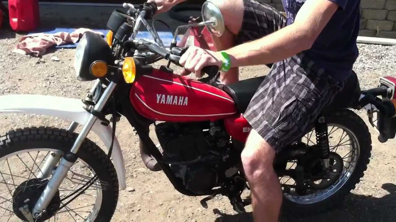 Yamaha DT 125 1973 images #89927