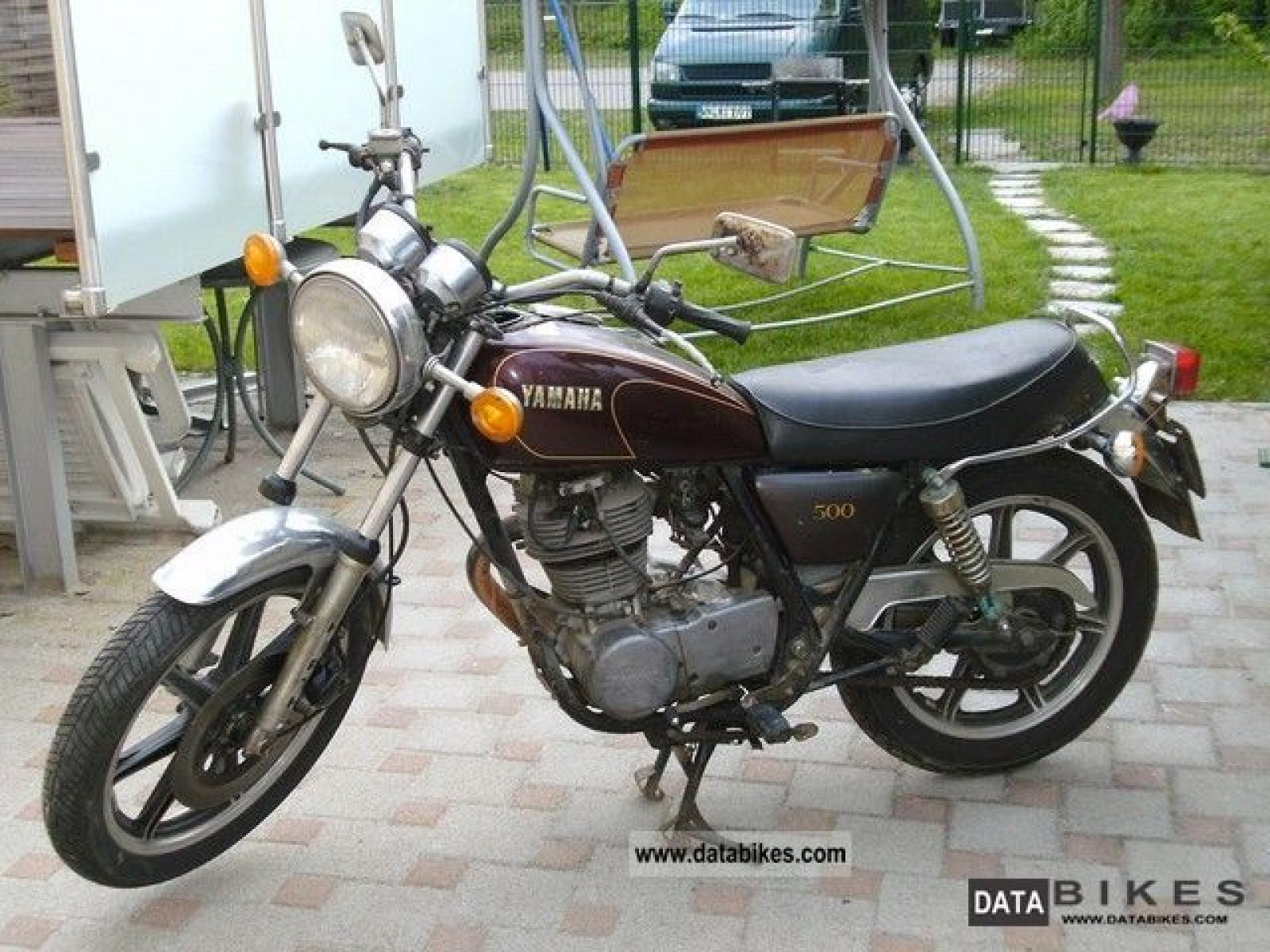 1984 yamaha sr 125 pics specs and information. Black Bedroom Furniture Sets. Home Design Ideas
