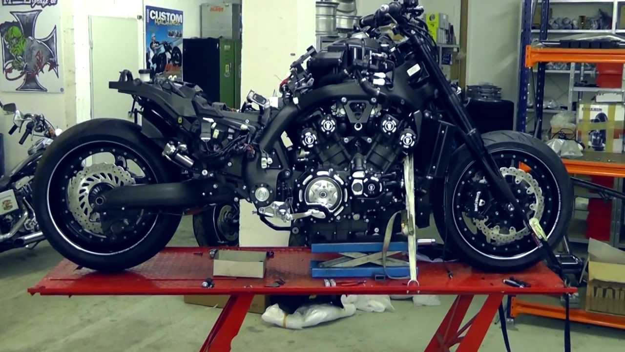 Yamaha VMAX Hyper Modified Marcus Walz 2013 images #92101