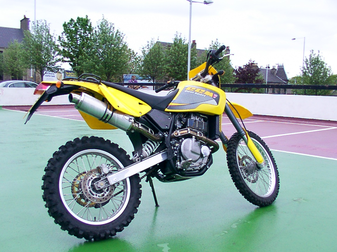 CCM 644DS Dualsport Trial 2003 wallpapers #142928