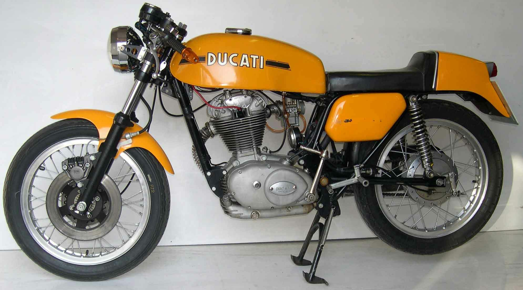 Ducati 350 Mark 3 D 1974 images #10204
