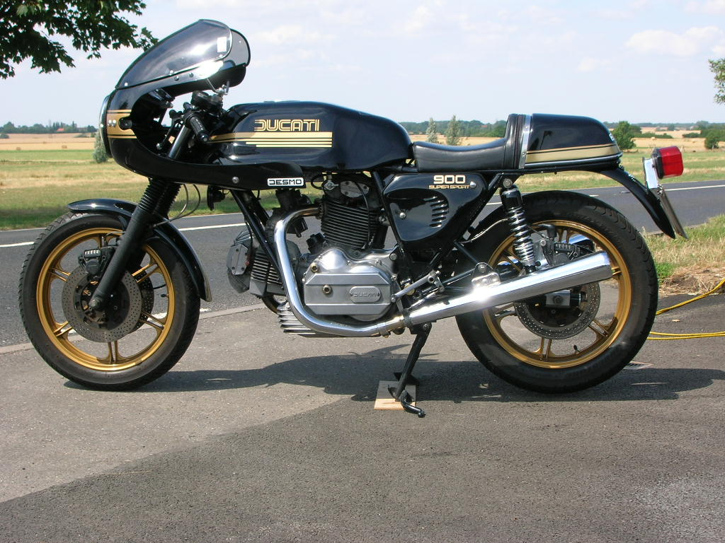 Ducati 900 SS Darmah 1981 wallpapers #16467