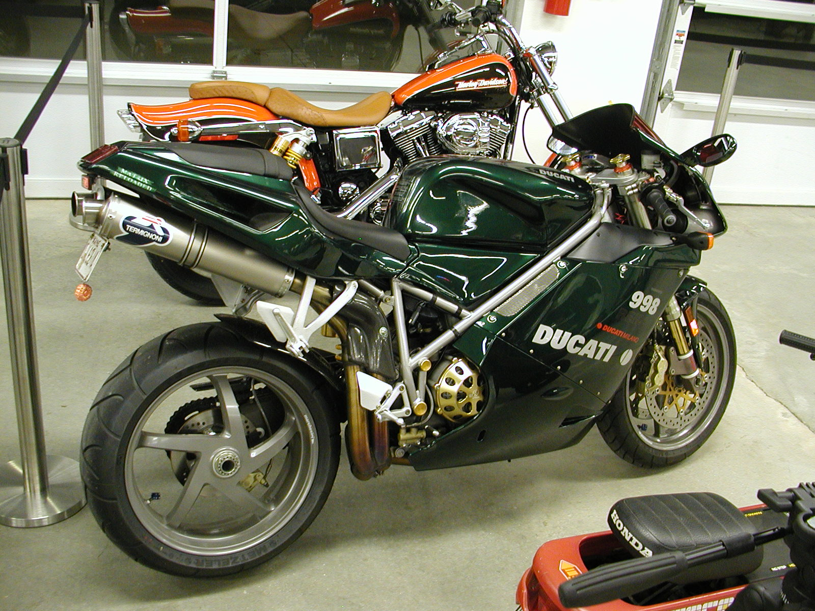 Ducati 998 Matrix 2004 wallpapers #11394
