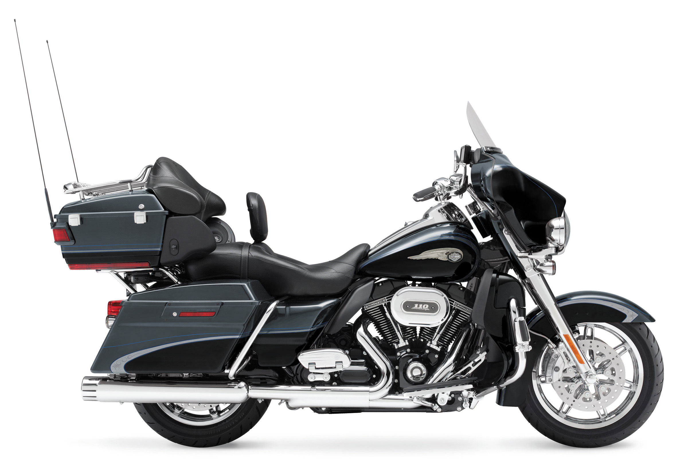 Harley-Davidson FLHTCUSE8 CVO Ultra Classic Electra Glide 110th Anniversary 2013 wallpapers #142031