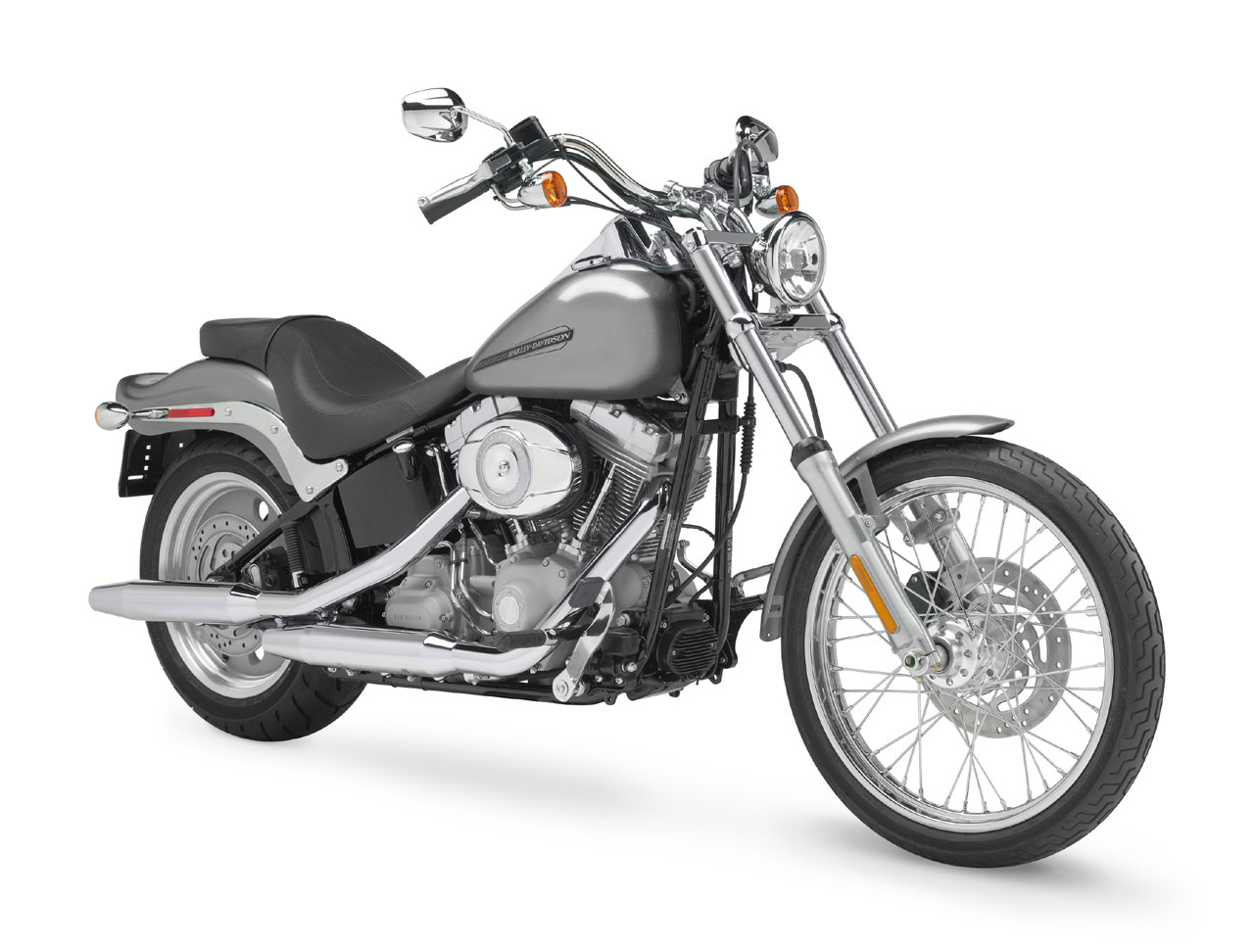 2001 Harley-Davidson FXST Softail Standard: pics, specs and ... on