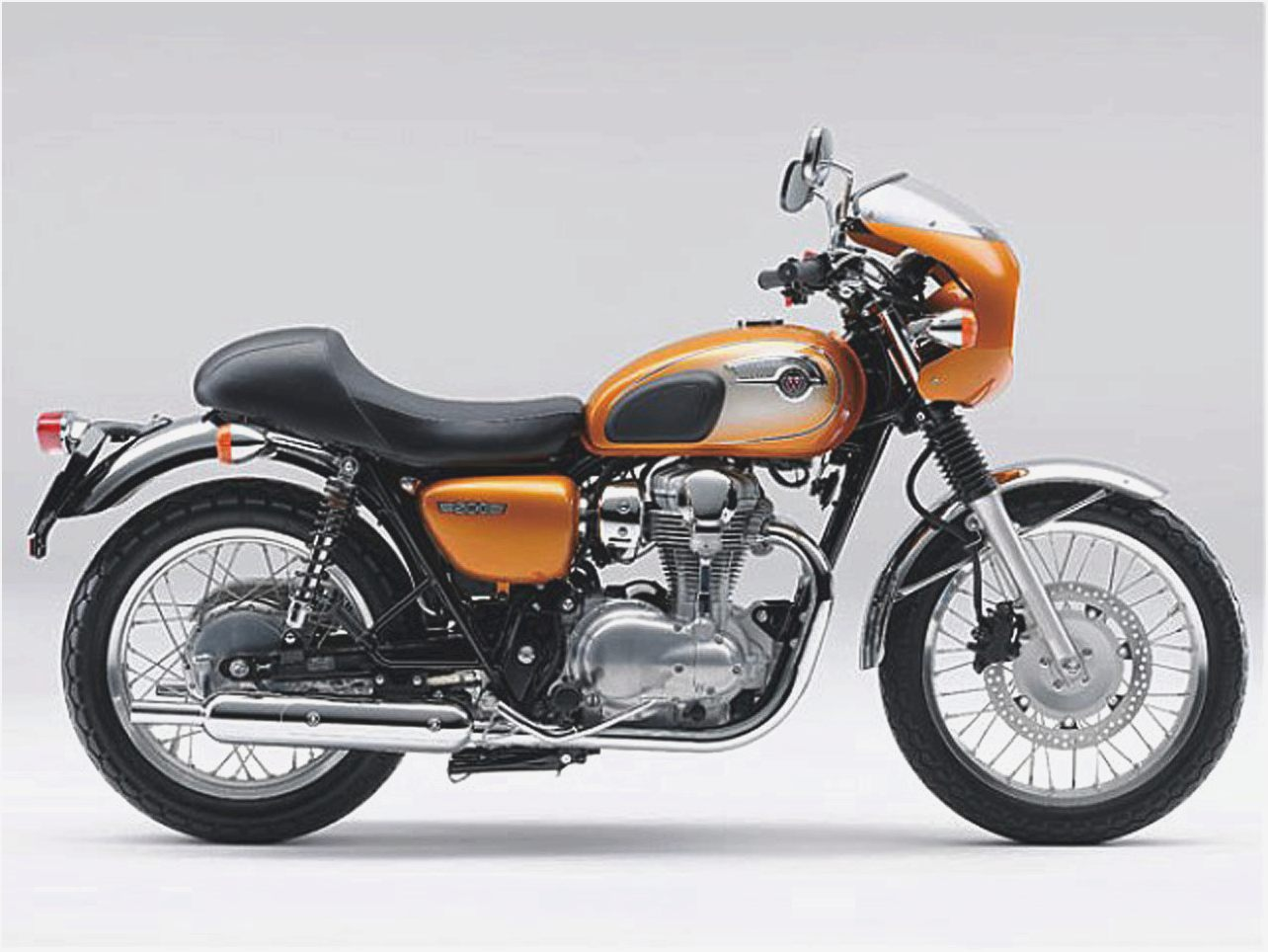 Kawasaki W800 Cafe Style images #86143