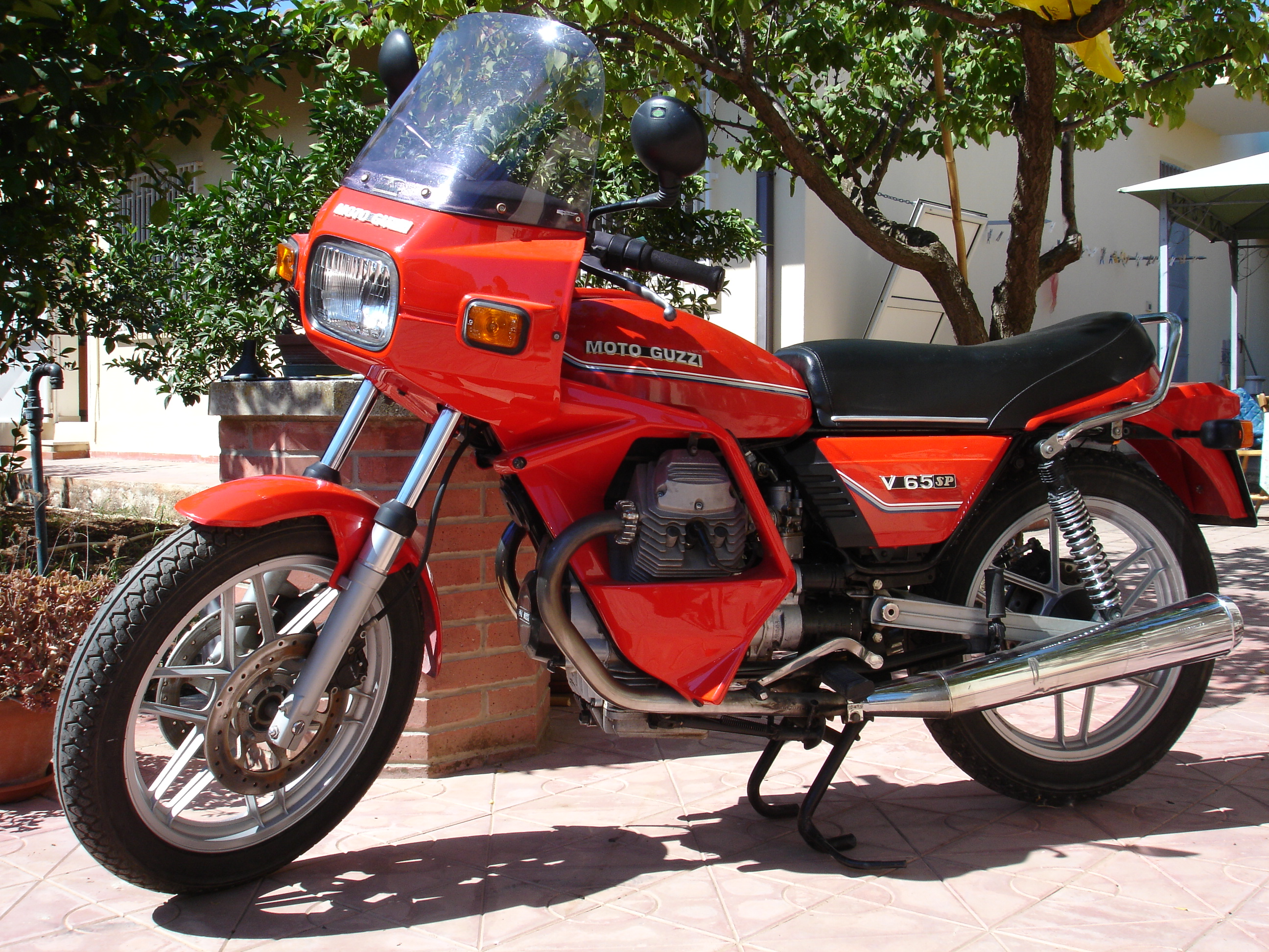 Moto Guzzi V65 TT 1987 wallpapers #139556