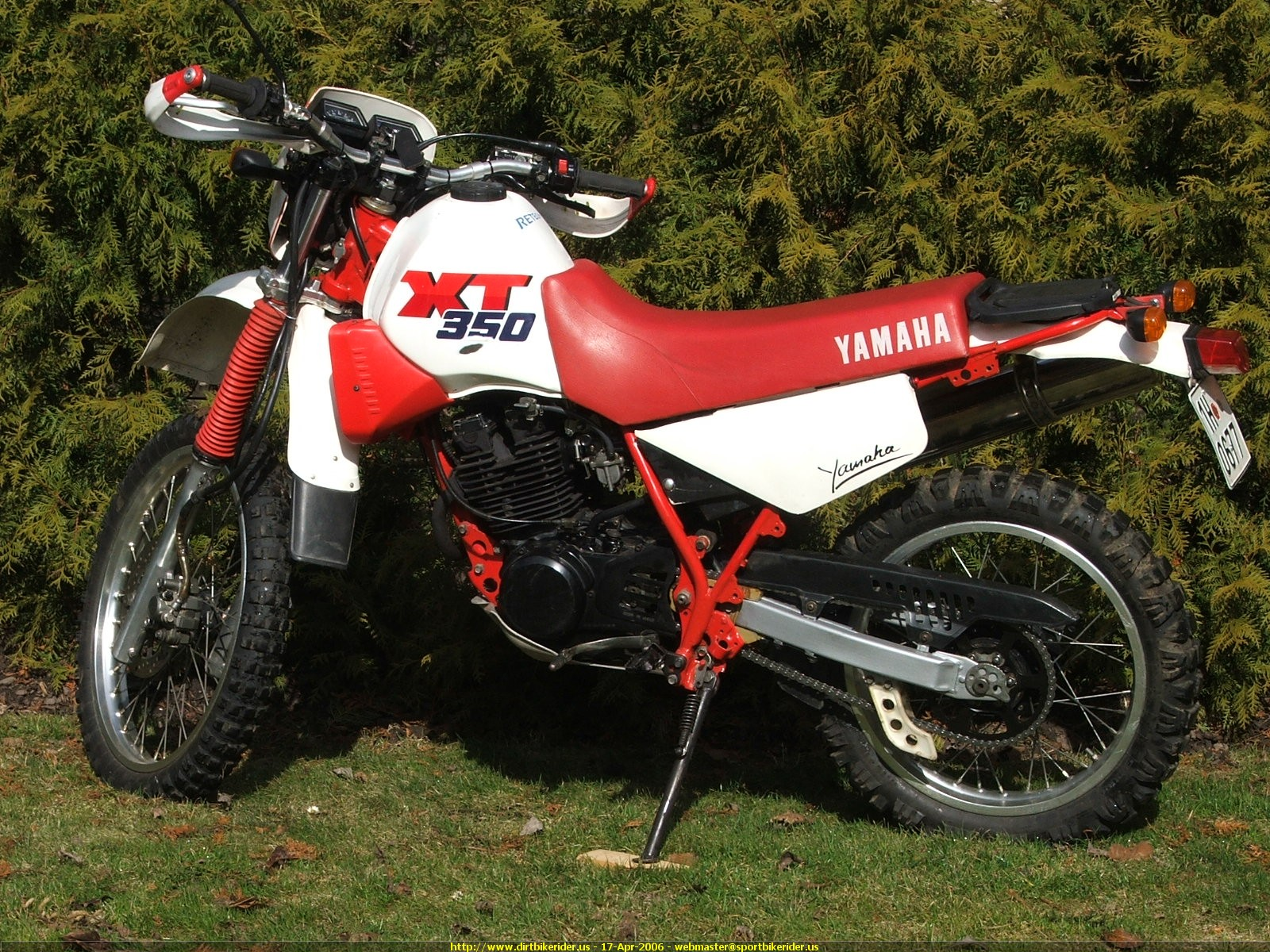 Yamaha XT 350 1988 wallpapers #142629