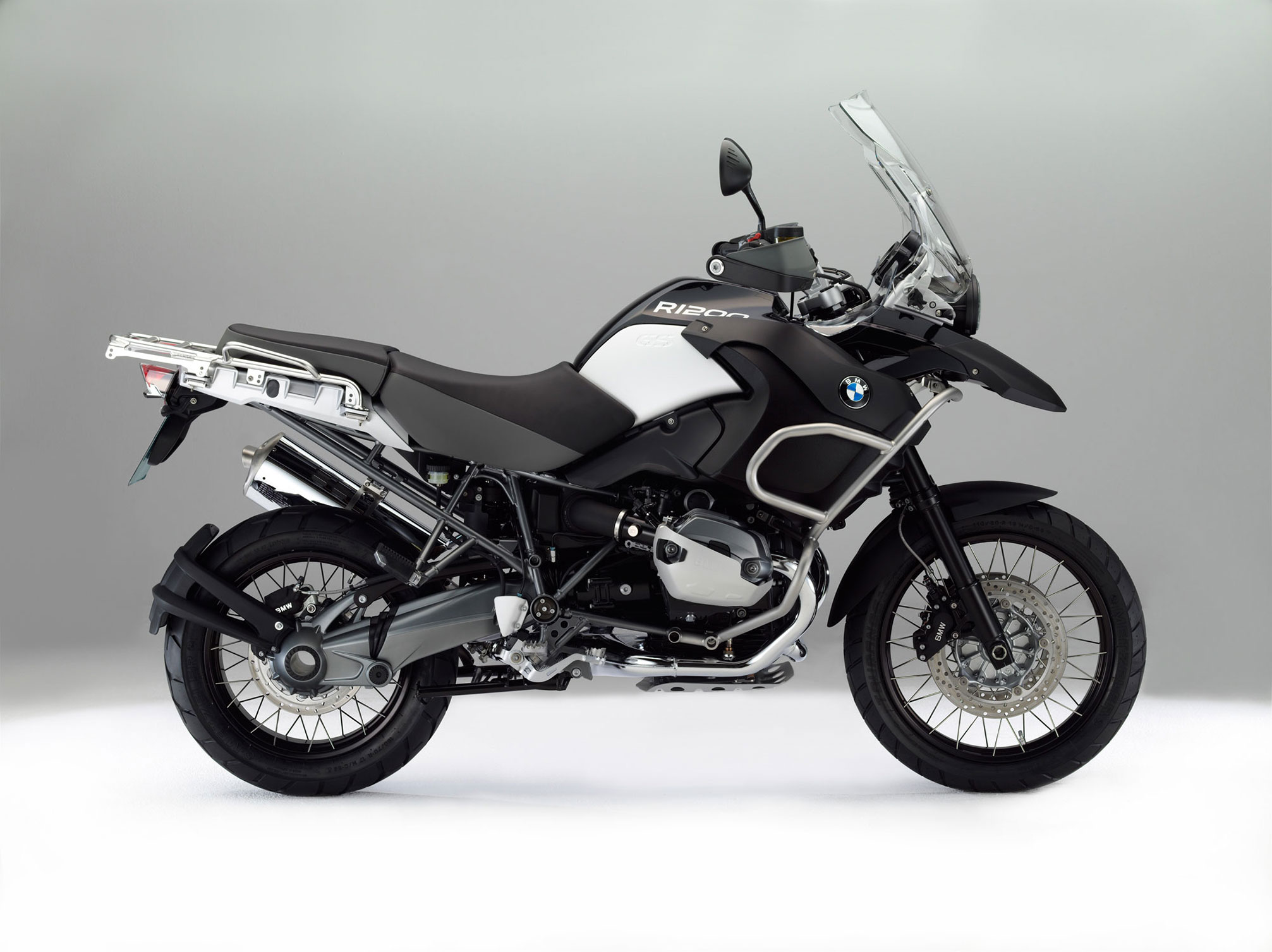 BMW R1200GS Adventure Triple Black 2013 images #8618