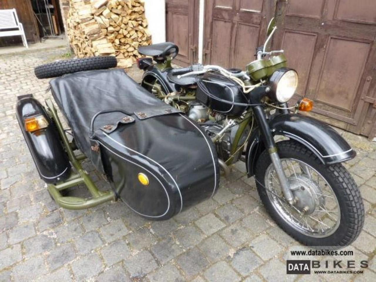 Dnepr MT 10 with sidecar 1983 images #95569