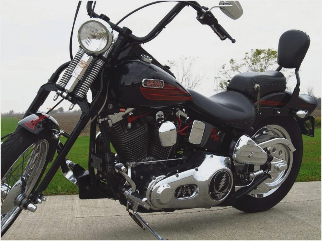 Harley-Davidson FXSTS Springer Softail 1995 images #81091