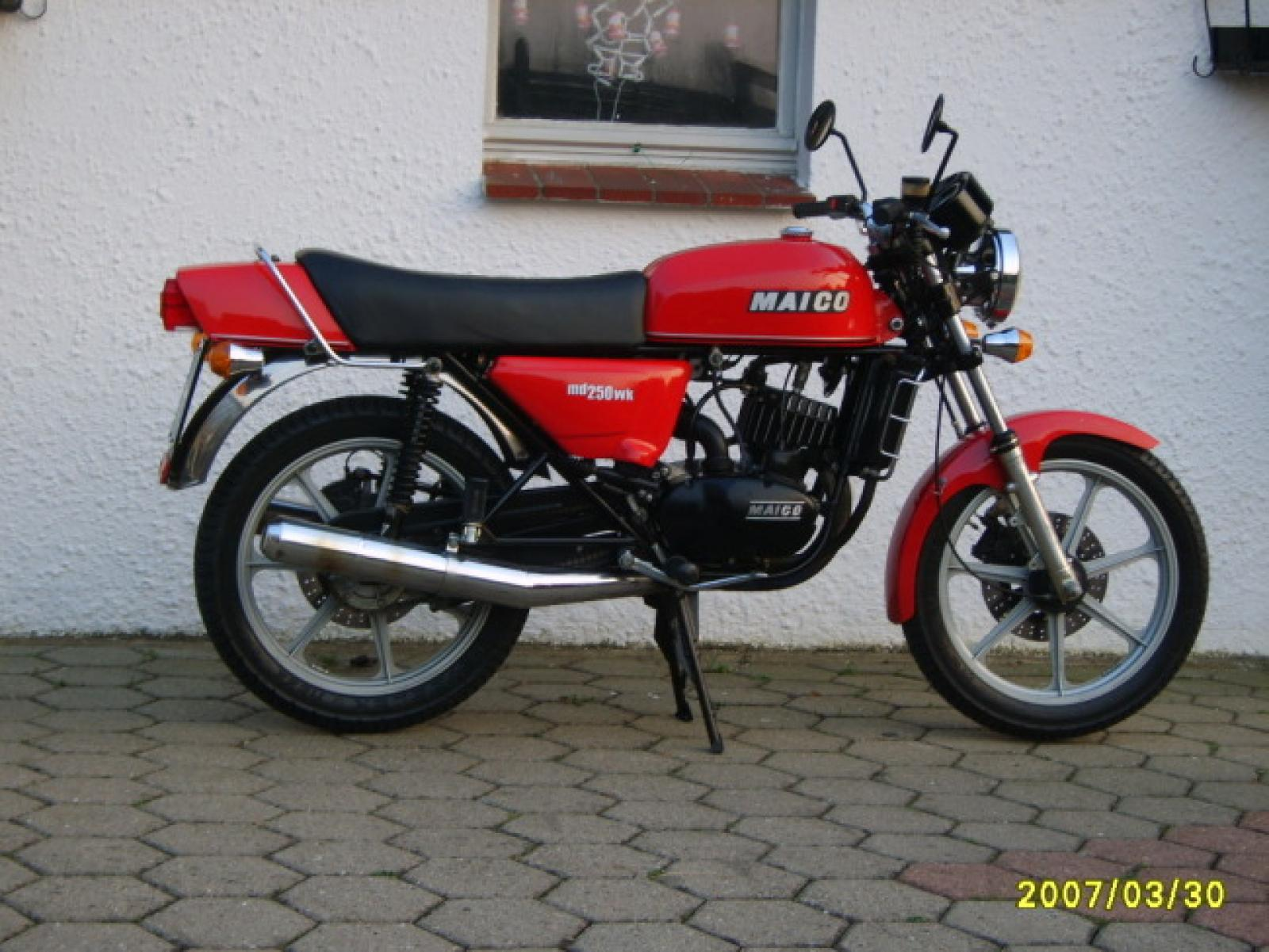 Maico MD 250 WK 1980 images #103402