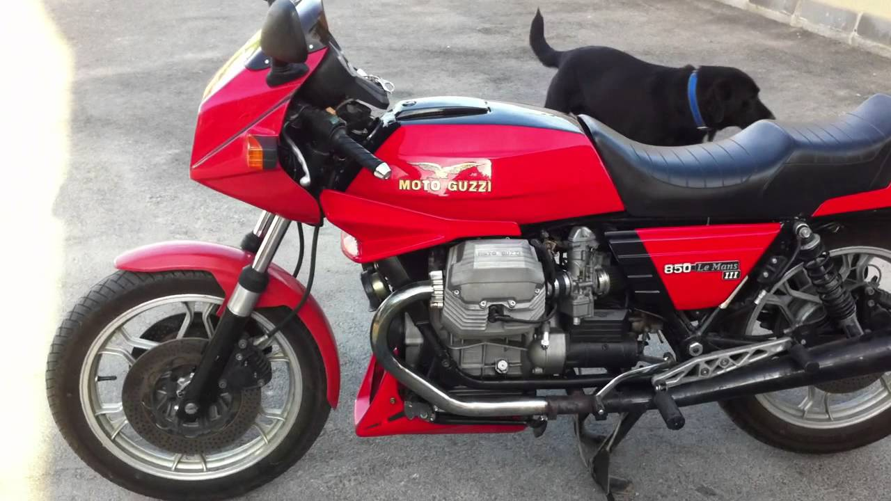 1983 moto guzzi 850 le mans iii pics specs and information. Black Bedroom Furniture Sets. Home Design Ideas