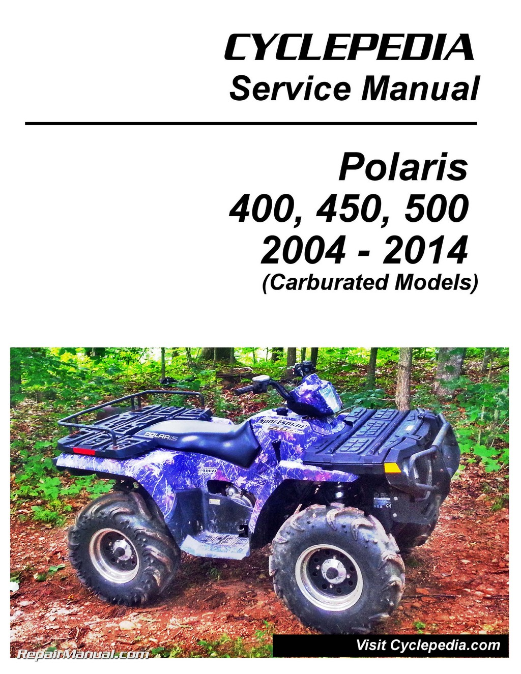 polaris ranger 400 service manual