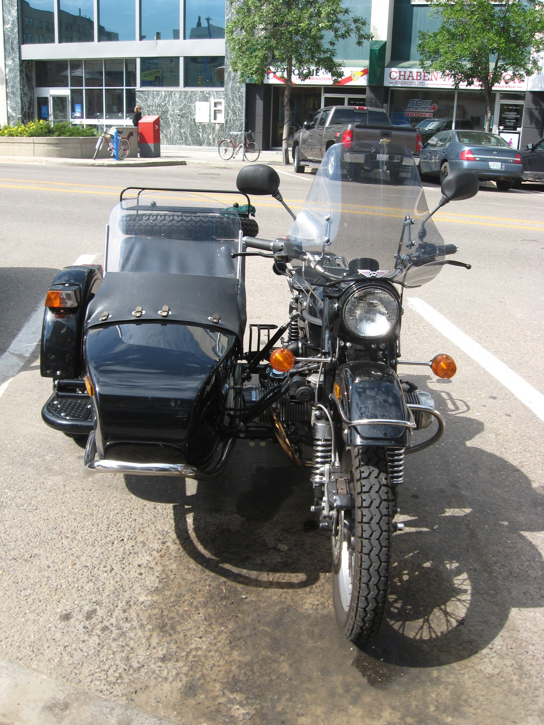 Ural M-63 with sidecar 1973 images #127089